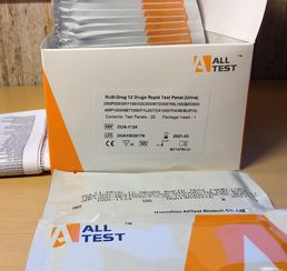 12-Drug Dip Test Panel, 25 pcs